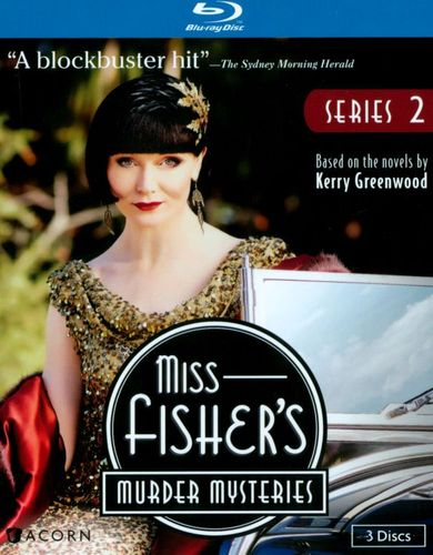 Miss Fisher's Murder Mysteries: Series 2 [3 Discs] [Blu-ray] 24830239