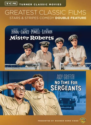 TCM Greatest Classic Films: Stars & Stripes Comedy - Mister Roberts/No Time for Sergeants [2 Discs] [DVD] [1955] 24836514