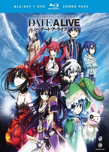 Date A Live: The Complete Series [4 Discs] [Blu-ray/DVD] 24914841
