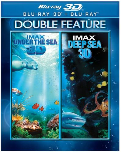 Under the Sea 3D/Deep Sea 3D [2 Discs] [3D] [Blu-ray] [Blu-ray/Blu-ray 3D] 24946178