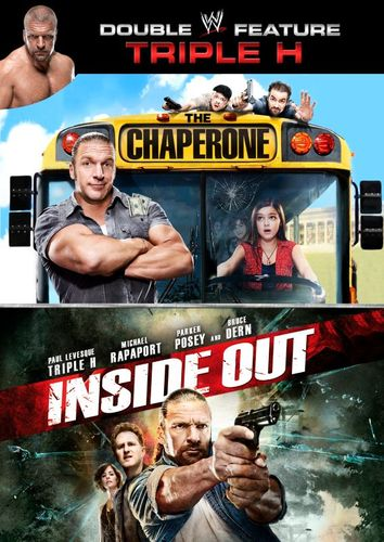 WWE: Triple H Double Feature - The Chaperone/Inside Out [2 Discs] [DVD] 25028181