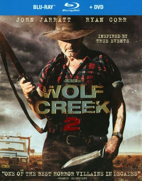 Wolf Creek 2 [2 Discs] [Blu-ray/DVD] [2013] 25028319