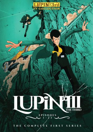 Lupin the 3rd: The Complete First Season [3 Discs] [DVD] 25066191