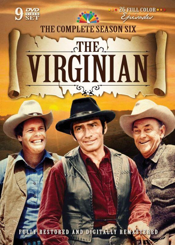 The Virginian: The Complete Season Six [9 Discs] [DVD] 25067172