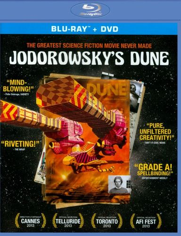 Jodorowsky's Dune [2 Discs] [Blu-ray/DVD] [2013] 25130216