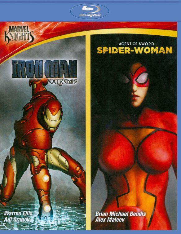 Marvel Knights: Iron Man/Spider Woman [Blu-ray] 2518114