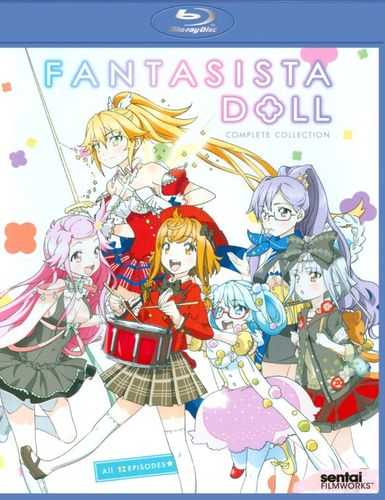 Fantasista Doll: Complete Collection [3 Discs] [Blu-ray] 25277344