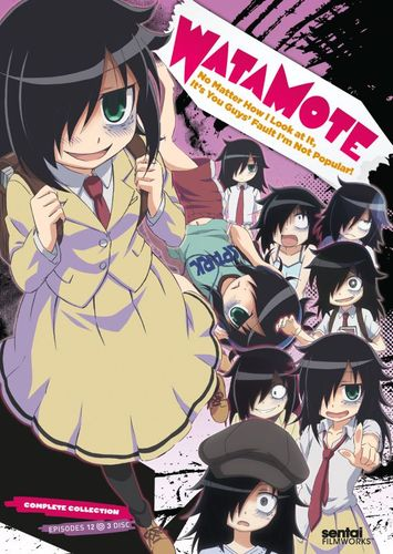 WataMote: Complete Collection [3 Discs] [DVD] 25277711