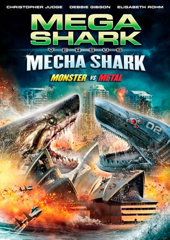 Mega Shark vs. Mecha Shark [DVD] [2014] 25299229