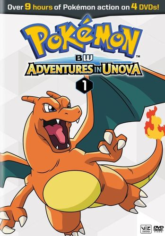 Pokemon: Black & White - Adventures in Unova, Vol. 1 [4 Discs] [DVD] 25373932