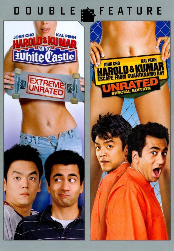 Harold & Kumar Go to White Castle/Harold & Kumar Escape from Guantanamo Bay [DVD] 2539393