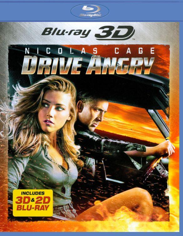 Drive Angry [2 Discs] [3D] [Blu-ray] [Blu-ray/Blu-ray 3D] [2011] 2540097