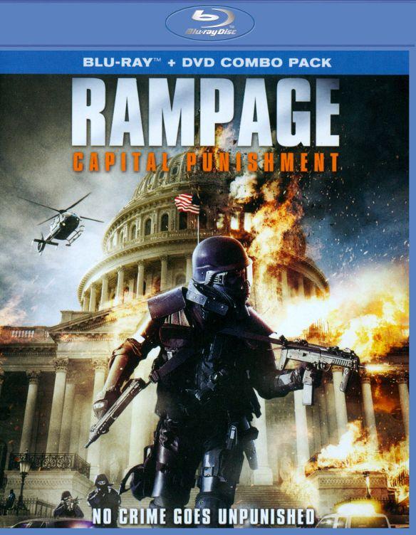 Rampage: Capital Punishment [2 Discs] [Blu-ray/DVD] [2014] 25422435