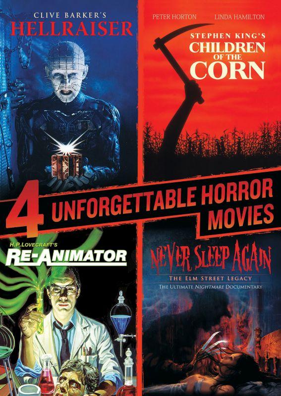 4 Unforgettable Horror Movies [3 Discs] [DVD] 25430549