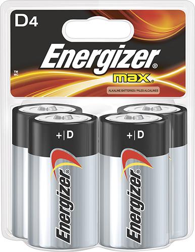 Energizer - D Batteries...