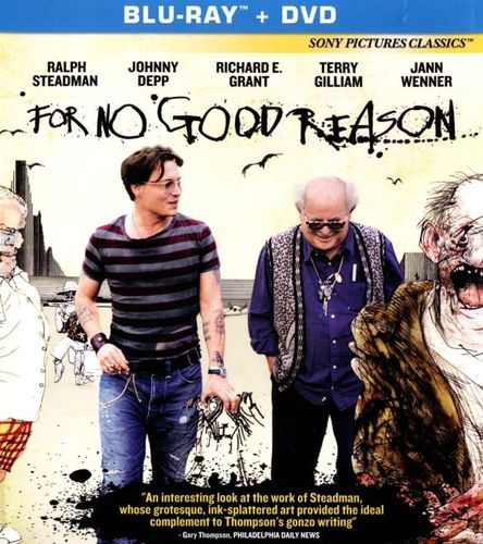 For No Good Reason [2 Discs] [Blu-ray/DVD] [2012] 25508166