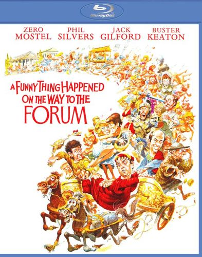 A Funny Thing Happened on the Way to the Forum [Blu-ray] [1966] 25532351