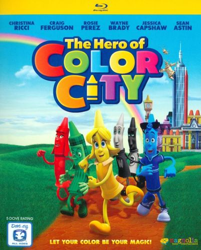 The Hero of Color City [Blu-ray] [2014] 25532637