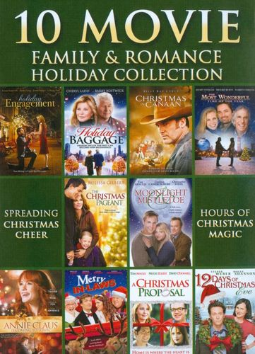 10 Movie Family & Romance Holiday Collection [3 Discs] [DVD]