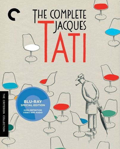 The Complete Jacques Tati [Criterion Collection] [7 Discs] [Blu-ray] 25578455