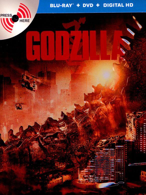 Godzilla [2 Discs] [Includes Digital Copy] [Ultraviolet] [SteelBook] [Blu-ray/DVD] [2014] 25599385