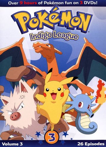 Pokemon: Indigo League, Vol. 3 [3 Discs] [DVD] 25656168