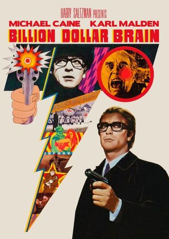 Billion Dollar Brain [DVD] [1967] 25664574