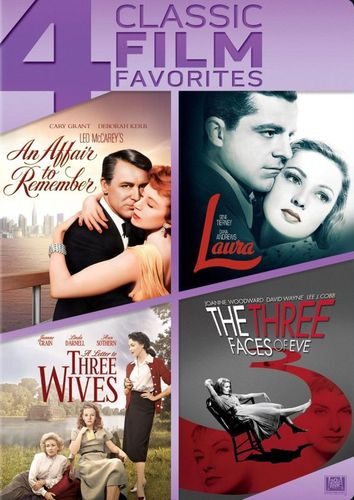 An Affair to Remember/Laura/A Letter to Three Wives/The Three Faces of Eve [3 Discs] [DVD] 25696527