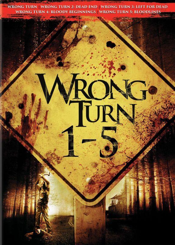 Wrong Turn 1-5 [5 Discs] [DVD] 25710305