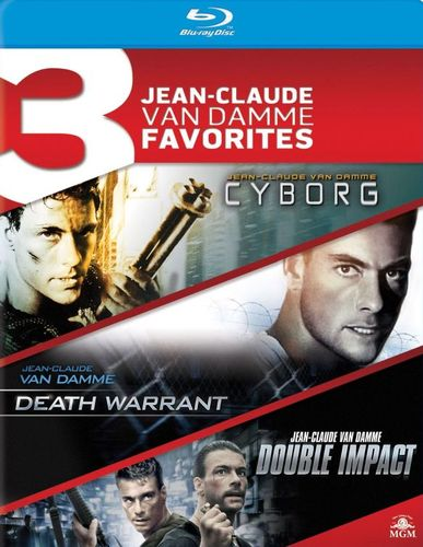 Cyborg/Death Warrant/Double Impact [3 Discs] [Blu-ray] 25715181