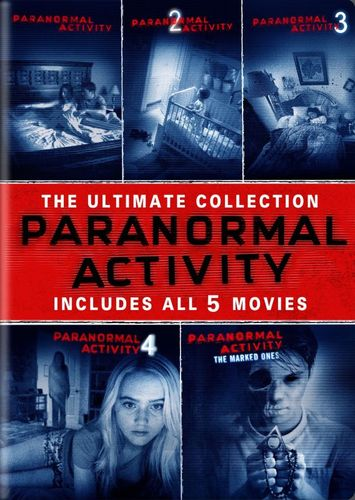 Paranormal Activity: 5 Movie Collection [5 Discs] [DVD] 2574279