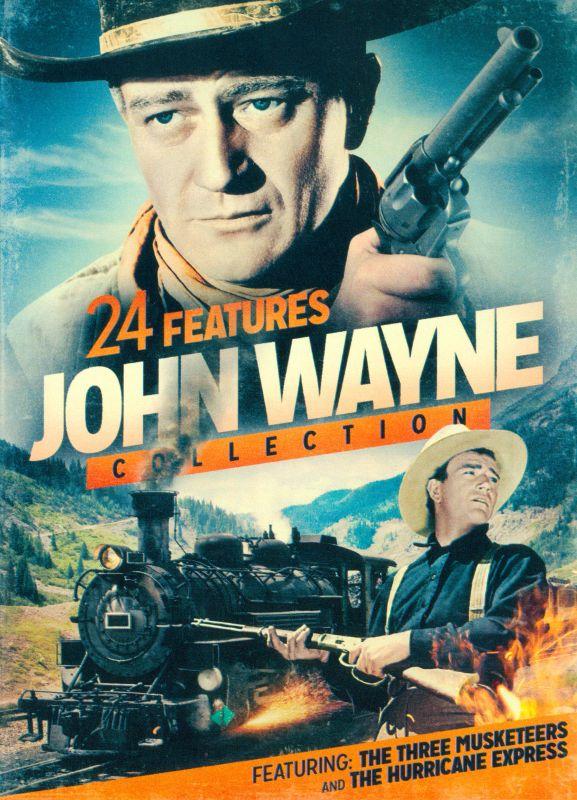 John Wayne Collection: 24 Features [2 Discs] [DVD] 25750604