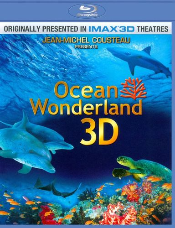Ocean Wonderland 3D [2 Discs] [3D] [Blu-ray] [Blu-ray/Blu-ray 3D] [2003] 2579214