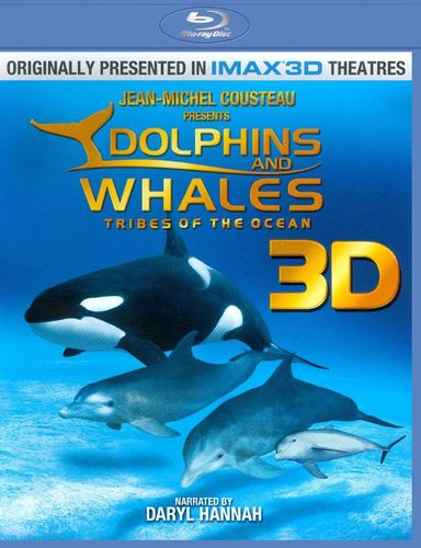 Dolphins and Whales 3D [2 Discs] [3D] [Blu-ray] [Blu-ray/Blu-ray 3D] [2008] 2579232