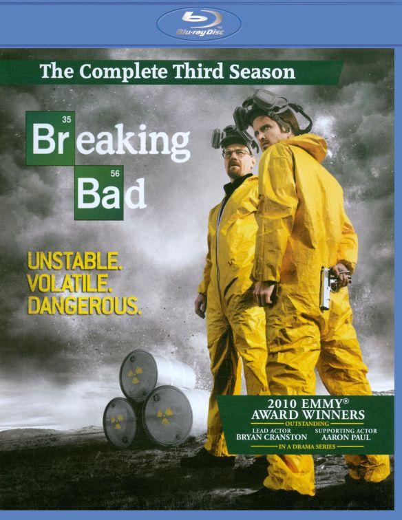 Breaking Bad: The Complete Third Season [3 Discs] [Blu-ray] 2579417