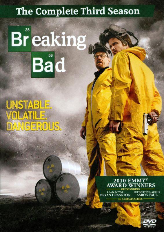 Breaking Bad: The Complete Third Season [4 Discs] [DVD] 2579471