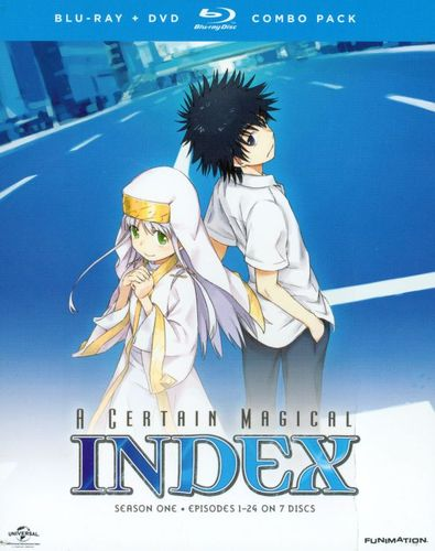 A Certain Magical Index: Season One [7 Discs] [Blu-ray/DVD] 25884827
