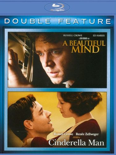 A Beautiful Mind/Cinderella Man [2 Discs] [Blu-ray] 2589027