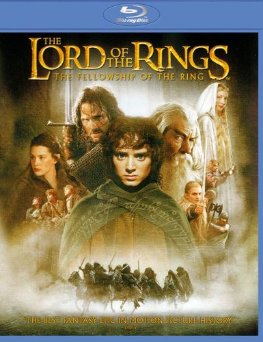 The Lord of the Rings: The Fellowship of the Ring [Blu-ray] [2001] 25899786