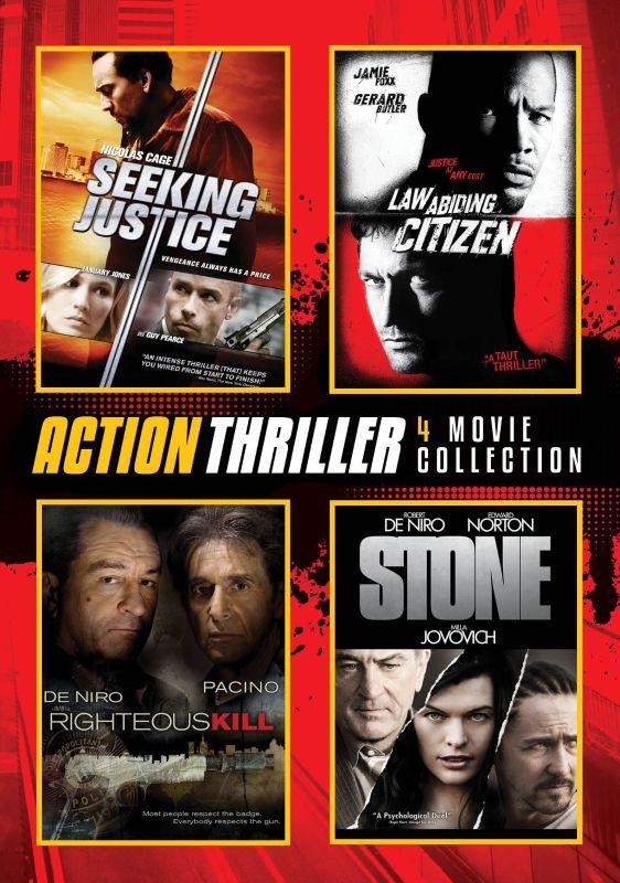 Action Thriller 4 Movie Collection [4 Discs] [DVD] 25944187