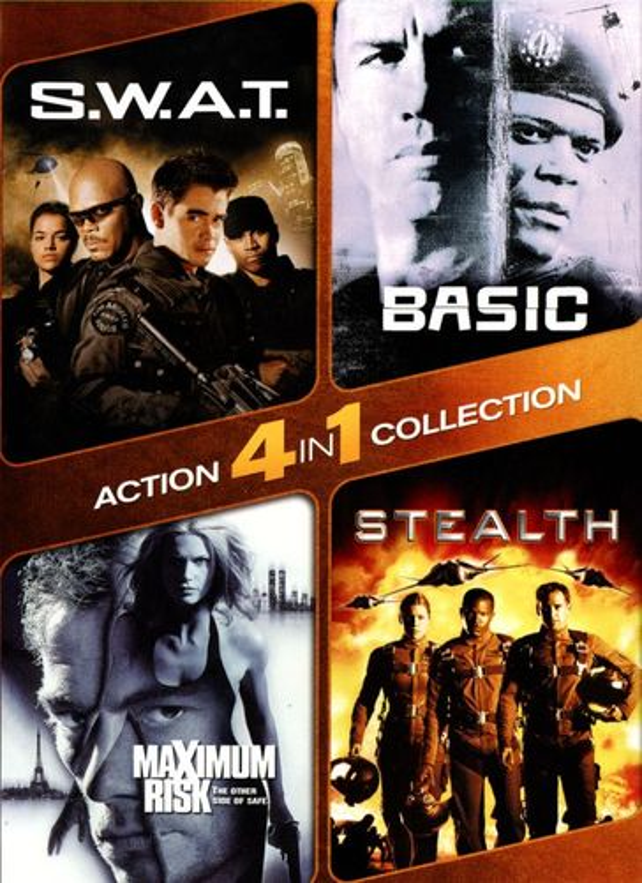S.W.A.T./Basic/Maximum Risk/Stealth [2 Discs] [DVD] 25972573