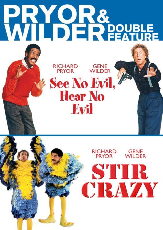 Pryor & Wilder Double Feature: See No Evil, Hear No Evil/Stir Crazy [DVD] 25974209