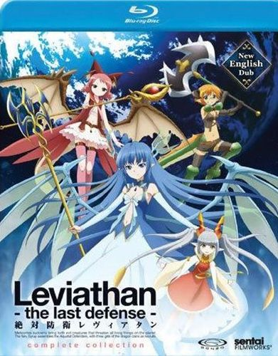 Leviathan: The Last Defense - Complete Collection [2 Discs] [Blu-ray] 26008161