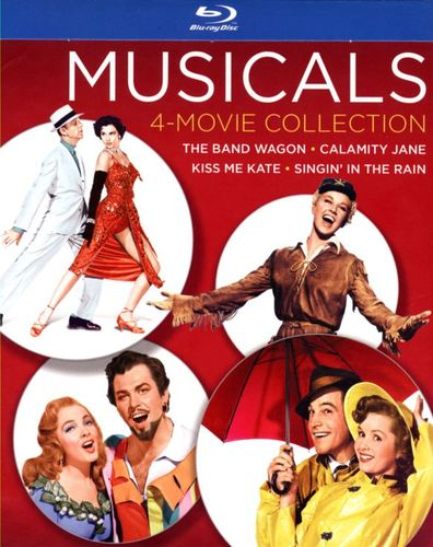 Musicals: 4-Movie Collection [4 Discs] [Blu-ray] 26008766