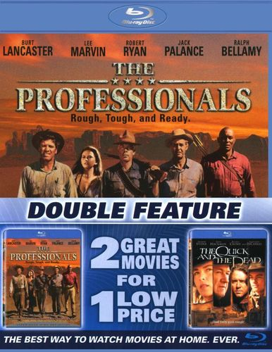 The Professionals/The Quick and the Dead [2 Discs] [Blu-ray] 2604253