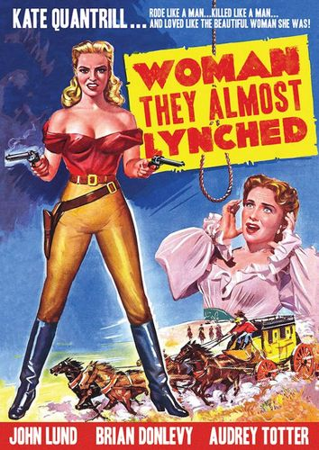 The Woman They Almost Lynched [DVD] [1953] 26094409