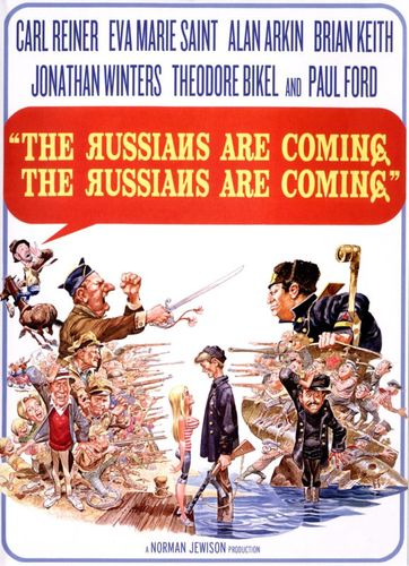 The Russians Are Coming, the Russians Are Coming! [DVD] [1966] 26103192