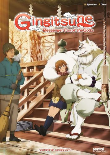 Gingitsune: Messenger Fox of the Gods - Complete Collection [2 Discs] [DVD] 26104383