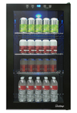 Vinotemp 34-Bottle Beverage Cooler Black VT-BC34 TS