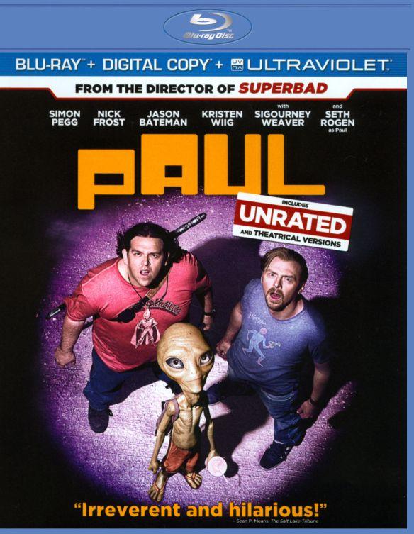 Paul [Includes Digital Copy] [UltraViolet] [Blu-ray] [2011] 2616024